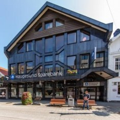 Fasade Haugesund Sparebank